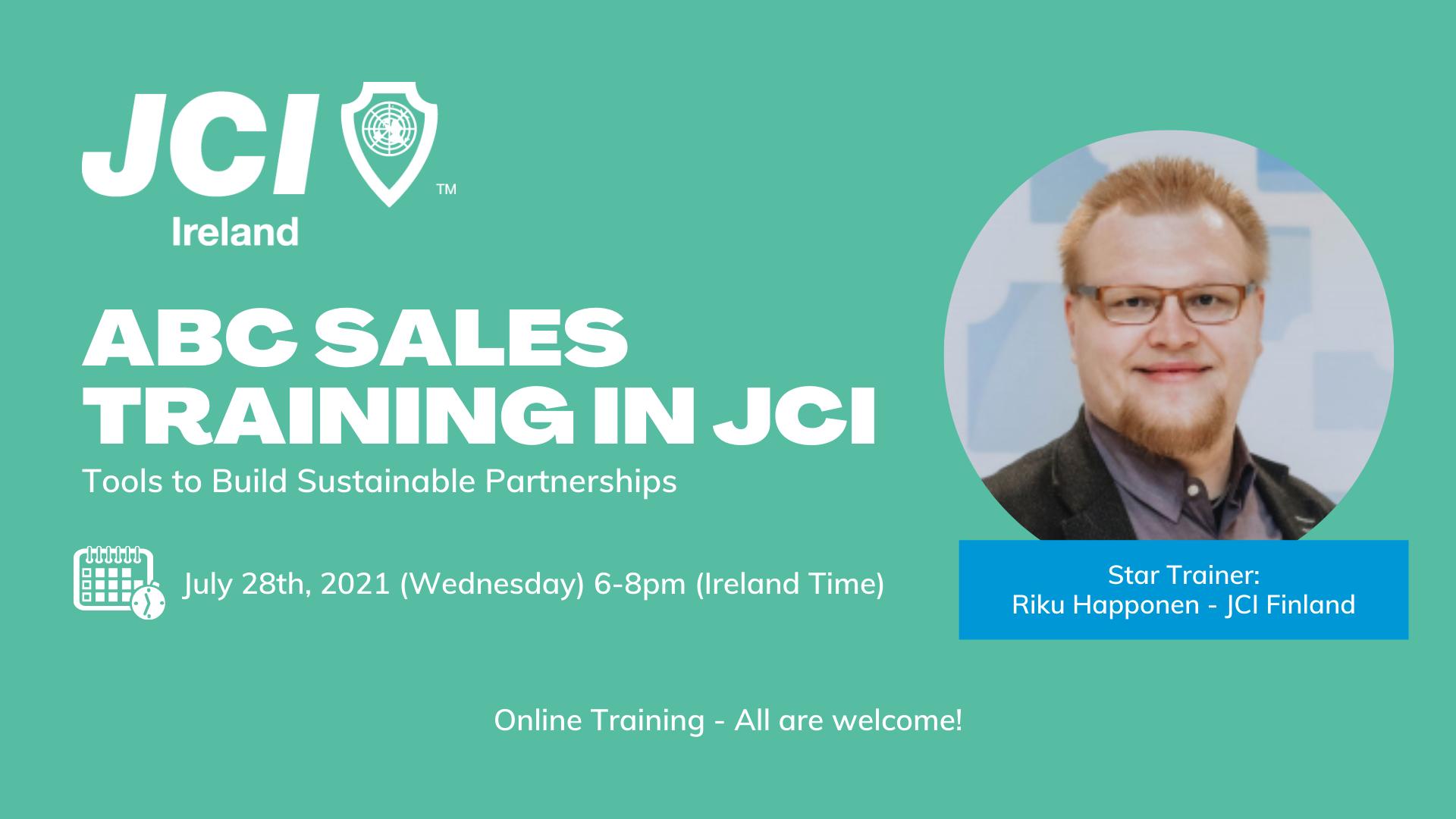 ABC Sales Training in JCI
