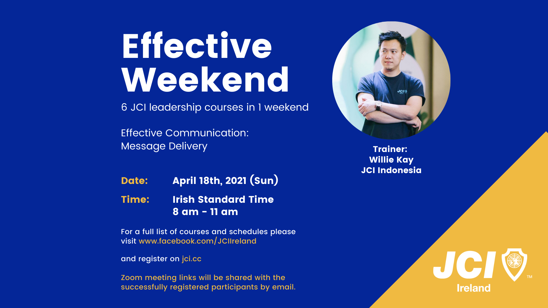 Effective Weekend 2021 - Effective Communication: Message Delivery