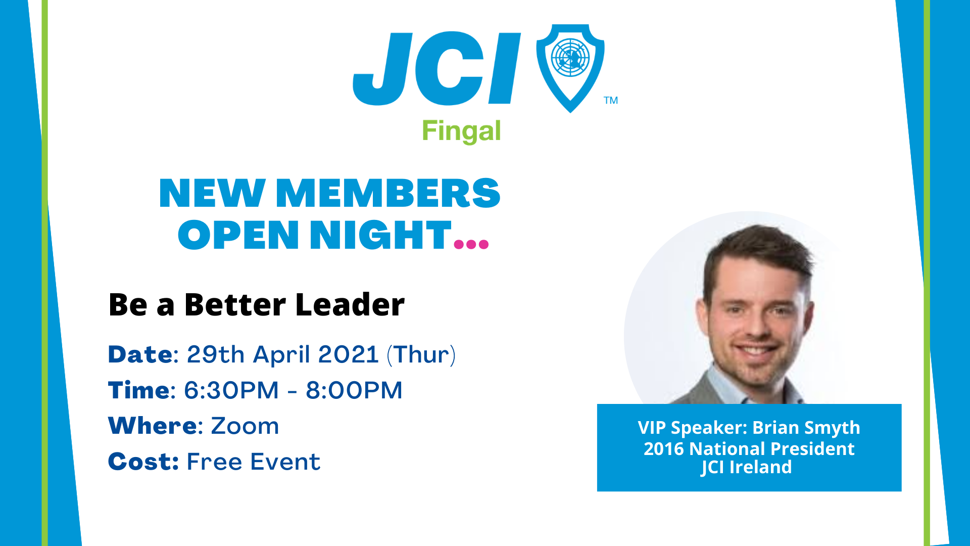 JCI Fingal New Members Open Night
