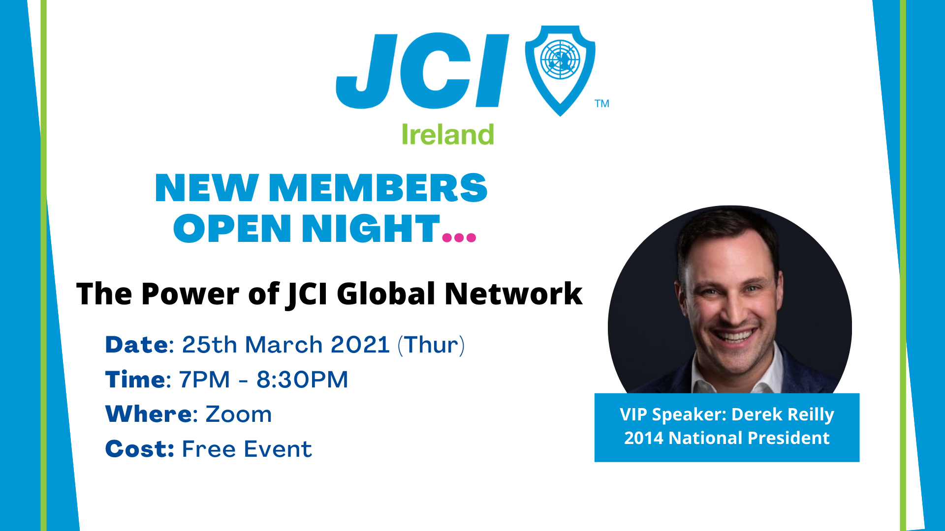 JCI Ireland New Members Open Night #2