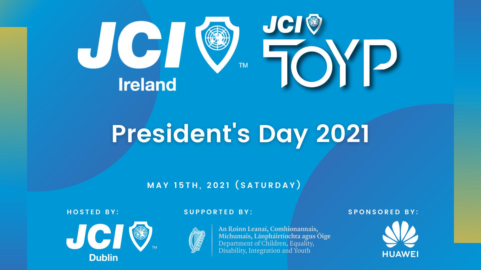 JCI Ireland President's Day 2021