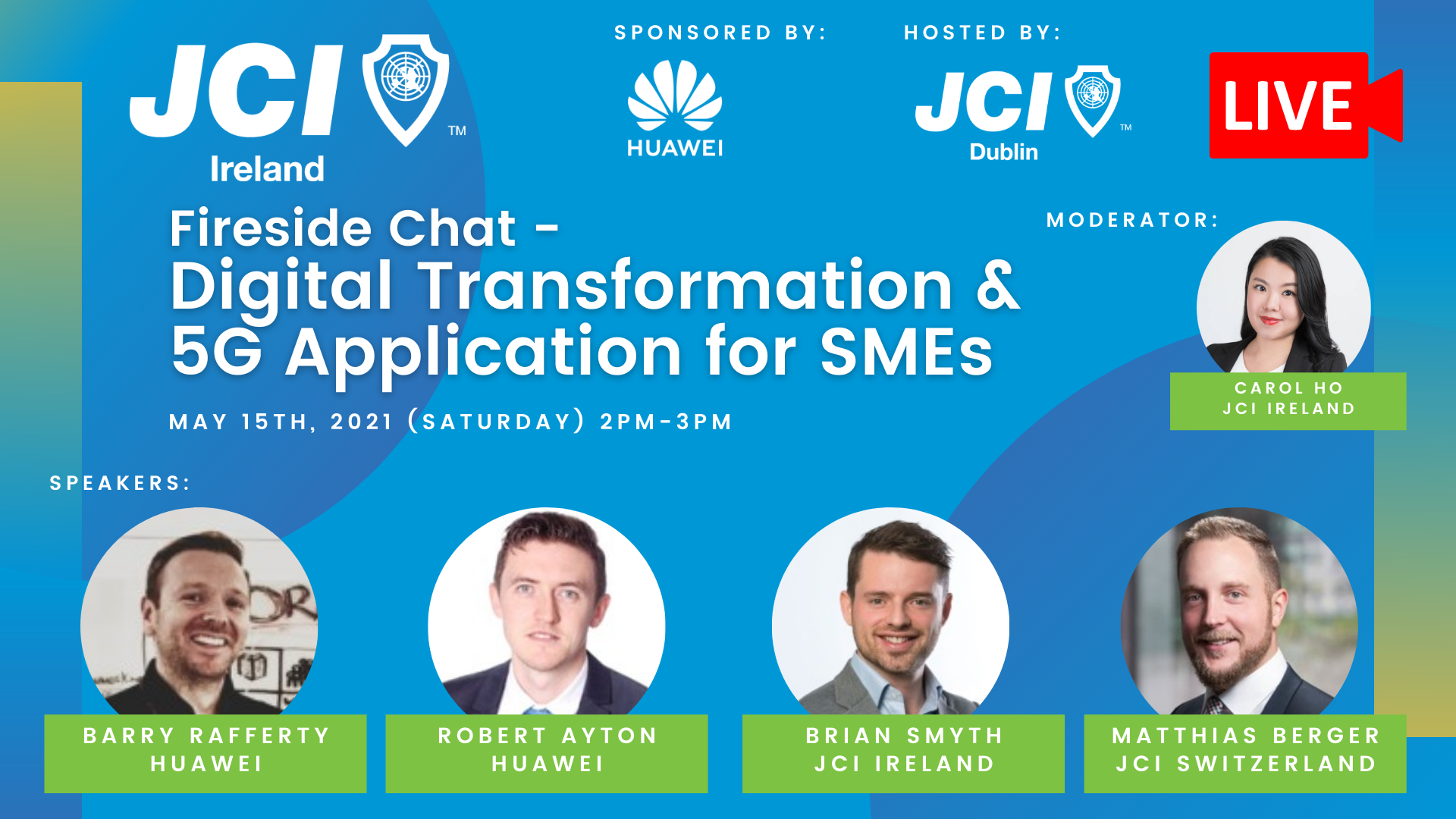 Fireside Chat: Digital Transformation & 5G Applications for SMEs