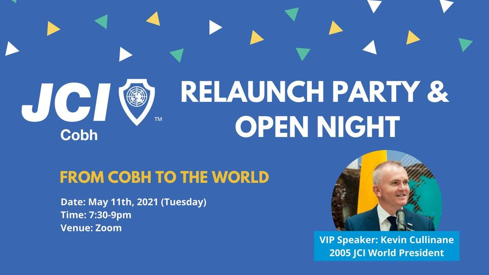 JCI Cobh Relaunch Party & Open Night